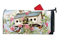 Studio M Mailbox Cover MailWrap – Spring Birdhouse