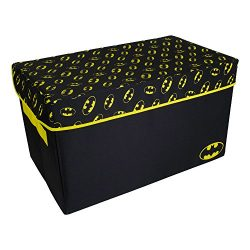 Batman Toy Chest by Everything Mary | DC Comics Collapsible Organizer Bin for Bedrooms, Closet S ...