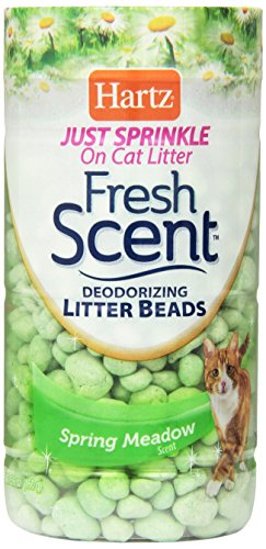 Hartz Fresh Scent Deodorizing Litter Beads – Spring Meadow