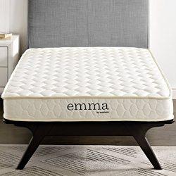 "Modway Emma 6"" Twin Foam Mattress – Firm Mattress For Guest Or Kid Room – 10-Year Wa ..."