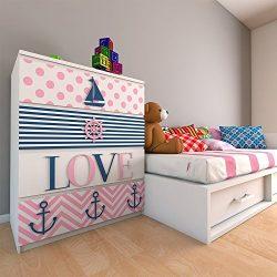 Ahoy Its A Girl – Girl Nursery Decor – Girls – Fretwork Panels – Kids Be ...