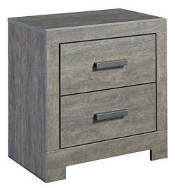 Signature Design by Ashley B070-92 Culver Bach Nightstand, Gray