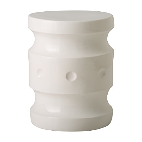 Emissary Home Amp Garden Spindle Stool White Zbbip Zbbip