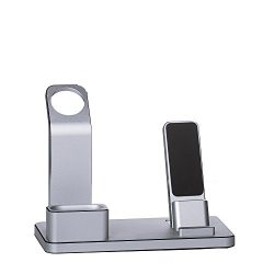 Apple Watch Stand, SKstore iphone Stand, Charging Stand Holder&Phone Desktop Tablet Dock for ...