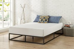 Zinus Modern Studio 10 Inch Platforma Low Profile Bed Frame / Mattress Foundation / Boxspring Op ...