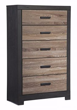 Ashley Furniture Signature Design – Harlinton Chest of Drawers – 5 Drawer Dresser &# ...