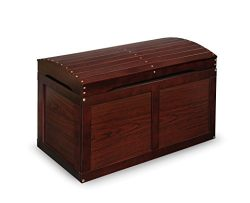 Barrel-Top Toy Chest – Cherry