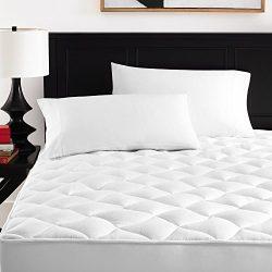 Ultra Soft Rayon Derived From Bamboo Mattress Topper – Premium Hypoallergenic Mattress Pad ...