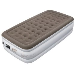 Etekcity Upgraded Air Mattress Blow Up Elevated Raised Guest Bed Inflatable Airbed with Built-in ...