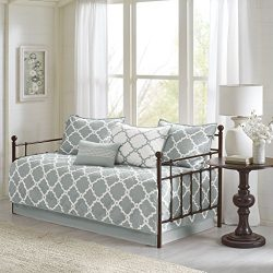 Merritt 6 Piece Reversible Daybed Set Grey Daybed