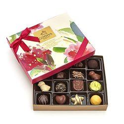 Godiva Chocolatier Assorted Gourmet Chocolate Spring Gift Box, 16 pc.