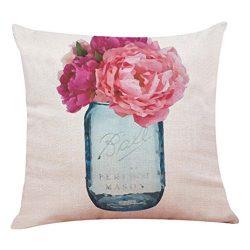 TiTCool 2018 Cushion Cover Hello Spring Home Decor Throw Pillowcase Pillow Covers 18×18 (C)