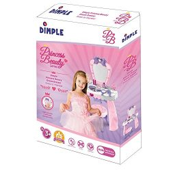 Dream Dresser Vanity Set for Girls with Tons of Accessories, Best Pretend & Play Toy for Kid ...