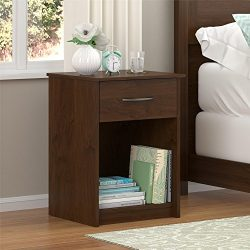 Ameriwood Home  Core Nightstand, Medium Brown