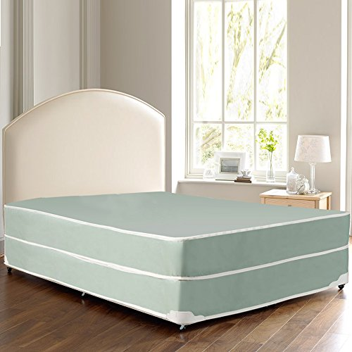 Continental Sleep Waterproof Vinyl Orthopedic Mattress and Box Spring – Ideal for Institut ...