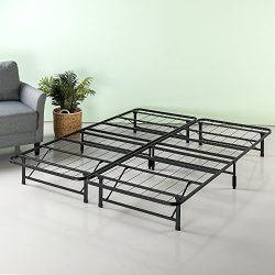 Zinus 10 Inch SmartBase Mattress Foundation / Platform Bed Frame / Box Spring Replacement / Quie ...