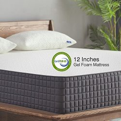Queen Mattress,Sweetnight 12 inch Gel Memory Foam Mattress in a Box, Sleeps Cooler, Supportive & ...
