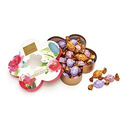Godiva Chocolatier Flower Gift Box Filled with Individually Wrapped Chocolate Truffles, 32 pc.