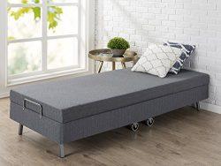 Zinus Memory Foam Resort Folding Guest Bed with Wheels, Narrow Twin / 30″ x 75″