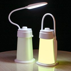 Kids Reading Night Light Bed Nursery Lamp – Baby Toddler Night Light Camping Lantern Tent  ...