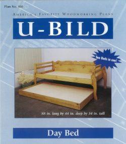 U-Bild 810 Day Bed Project Plan