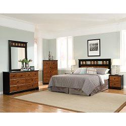 Cambridge Westminster 5 Piece Suite: Queen Bed, Dresser, Mirror, Chest, Nightstand Bedroom Furni ...