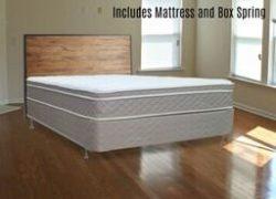 Mattress Comfort Mattress and Split Box Spring Foundations, Queen Size