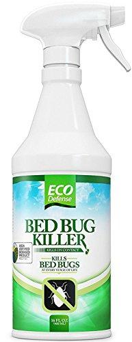 Eco Defense Bed Bug Killer, Natural Organic Formula Fastest, 16 oz.