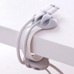 Winder Organizer,Toponly Cable Collector Silica Headphone Headset Wire Wrap Cord Organizer (fash ...