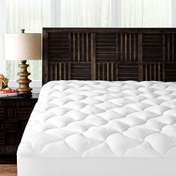 Mandarin Home Collection Ultra Soft Rayon Derived from Bamboo Plush Mattress Topper – Prem ...