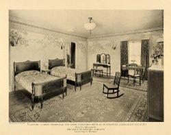 1919 Print Luce Furniture Anglo-Louis XVI Bedroom Set – Original Halftone Print