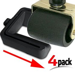 """Black Bed and Furniture Stopper – Requires """"No Lifting"""" of Your Bed – It ..."""