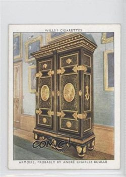 Armoire, Probably by Andre Charles Boulle (Trading Card) 1938 Wills Cthe King's Art Treasu ...