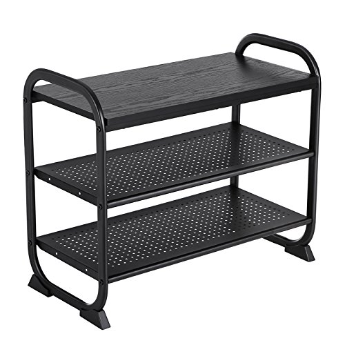 Songmics Shoe Bench Rack With Handle And Shelves For