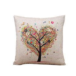 TiTCool 2018 Cushion Cover Hello Spring Home Decor Throw Pillowcase Pillow Covers 18×18 (K)
