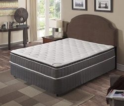 Continental Sleep Mattress, Pocketed Coil, Orthopedic Mattress with Simple Assembly Metal Box Sp ...