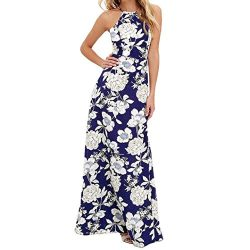 Women Dress,IEason Hot Sale! 2017 Women Summer Boho Long Maxi Evening Party Dress Beach Dresses  ...