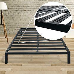 Best Price Mattress Model C Steel Heavy Duty Steel Slats Platform Bed Frame – Cal King / B ...
