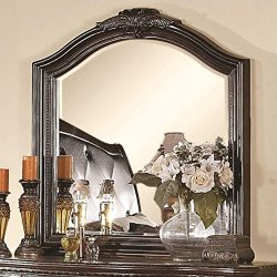 Coaster Home Furnishings 202264 Traditional Mirror, Brown and Cherry