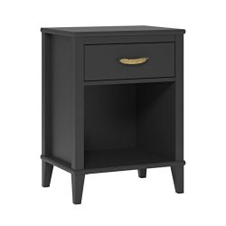 Ameriwood Little Seeds Monarch Hill Hawken Nightstand, Black