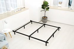 Noah Megatron 7 Inch Heavy Duty Metal Bed Frame for Queen Box Spring