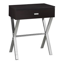 Pemberly Row Accent Nightstand in Cappuccino