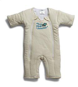 Baby Merlin's Magic Sleepsuit Cotton – Cream – 3-6 months