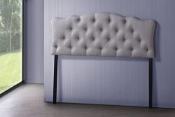 Wholesale Interiors Baxton Studio Rita Modern and Contemporary Fabric Upholstered Button-Tufted  ...