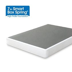 Zinus 7 Inch Smart Box Spring/Mattress Foundation/Strong Steel structure/Easy assembly required, ...