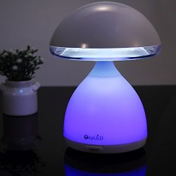 Kids Bedside Lamp, OxyLED Touch Sensor Bedside Table Lamps Night Light for Baby Room, Kids' ...