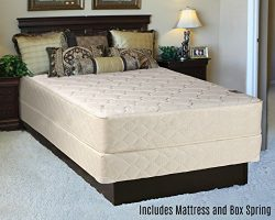 Fully Assembled Orthopedic Back Support Long Lasting 10″ Mattress and Box Spring Set