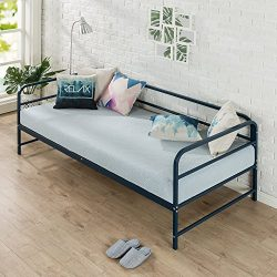 Zinus Nightfall Twin Daybed Frame/Steel Slat Support