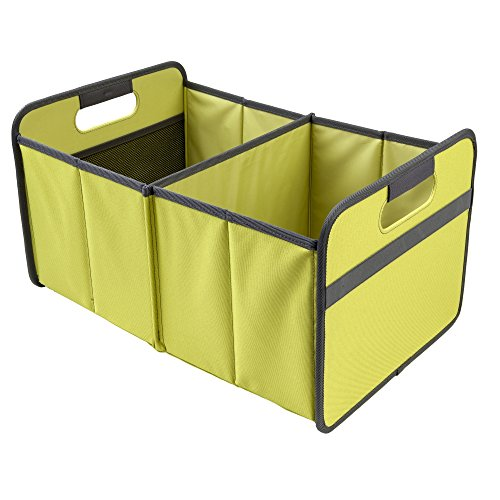 meori Classic Collection Large Foldable Storage Box, 30 Liter / 8 Gallon, in Spring Green To Org ...