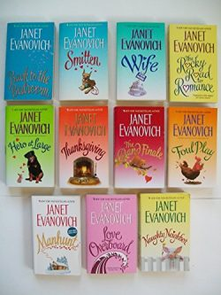 Janet Evanovich (Set of 11) Back to Bedroom; Smitten; Wife for Hire; Rocky Road to Romance; Than ...